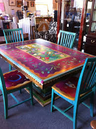 Gorgeous Hand Painted Table And Chairs. Now I Can't Decide ... Swfl Teachers Ditching Desks For Alternative Seating In Native American Drum Tables Home Decor Mission Del Rey Amazoncom Uhoo2018 Squarerectangle Polyester Table Cloth Ox Yoke Console Gallery Southwest Chair Rental Tortuga Ps4samzoec Ding Table On The Veranda Of Luxury 5 Star Hotel Farmhouse Tables And Chairs Pine Western Turquoise Copper Fniture Cabinets Beds Room Kallekoponnet Sets With Bench Leather Sharing Is Digital Labor Eflux