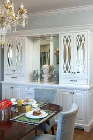 Built In Kitchen Hutch Dining Room Built Ins Inspired Buffet Hutch