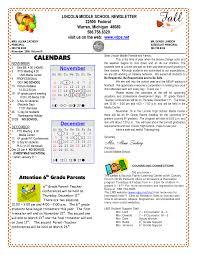 100 Condo Newsletter Ideas School Newsletter Templates LINCOLN MIDDLE SCHOOL NEWSLETTER