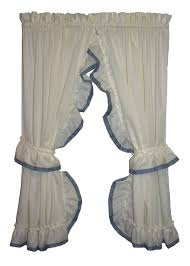 Discount Curtains & Valances, Country Window Curtains - Window Toppers Best Home Fashion Thermal Insulated Blackout Curtains Back Tab Rod Pocket Beige 52w X 84l Set Of 2 Panels Shop Farmhouse Style Decor Point Valances Pretty Windows Discount Country Window Toppers Top Swags Galore Aurora Mix Match Tulle Sheer With Attached Valance And 4piece Curtain Panel Pair Post Taged Outlet Store Lined Scalloped Custom Treatments Draperies Page 1 Primitive Rustic Quilts Rugs Drapes More From The Lagute Snaphook Truecolor Hookless Shower Gray