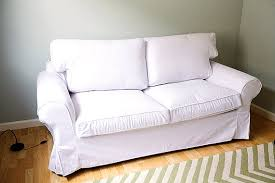 Lycksele Chair Bed Cover by Custom Ikea Ektorp Sofa Bed Cover 2 Seater In Gaia White