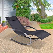 Outsunny Chaise Rocker Patio Lounge Chairs Swing Recliner Relaxer W ... Sunnydaze Decor Oversized Black Zero Gravity Sling Patio Lounge Pair Of Outdoor Chairs By Karl Lightfoot Studio For Sale At Chair Alinum Frame Durable Weather Resistant Corliving Brown Recling Walmart Canada Orbital Folding Rocking With Pillow Antique Stick Wicker 1stdibs Jens Risom Hivemoderncom Shop Christopher Knight Home Chaise Beachfront Sofa C Luxe Outside Unique Wooden Aed4012 Mainland Mark Thomas Lakeport 3pc Adjustable Green Set