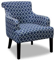 regency living room accent chair blue and white armchairs and