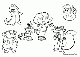 Nick Jr Characters Coloring Pages Cartoon Drawings Of Bubble Guppies