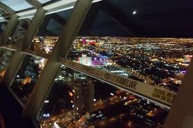 Stratosphere Observation Deck Hours by Tourist On Viewing Deck Of Stratosphere Tower Las Vegas Febr