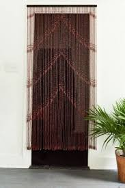 Doorway Beaded Curtains Wood by Hanging Bamboo Beaded Door Curtains Bamboos Curtains Pinterest
