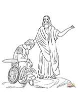 Coloring Page Of Matthew 85 13