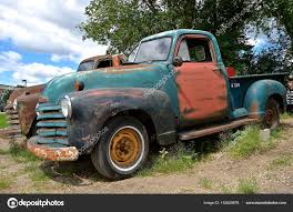 100 Old Chevy Truck Pickup Full Of Patina Stock Editorial Photo Fiskness