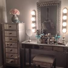 Makeup Vanity Table With Lights Ikea by 17 Diy Vanity Mirror Ideas To Make Your Room More Beautiful Wall