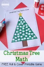FREE Christmas Tree Math