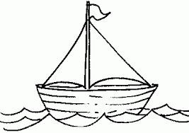 Nice Sailboat Clipart Black and White Free Boat Clipart