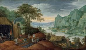 100 Rocky Landscape Marten Ryckaert Antwerp 15871631 A Rocky Landscape With Figures