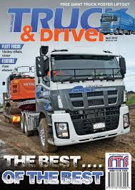 NZ Truck & Driver Magazine April 2018 By NZ Truck & Driver - Issuu