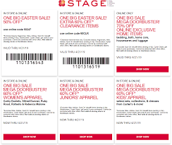 Stage Coupons - 50% Off Today At Stage, Or Online Via Promo Code 50247