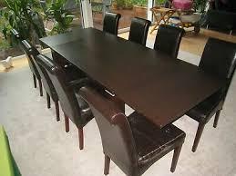 esstisch 140x90cm massivholztisch ausziehbar inkl 6
