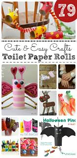 Cute Easy Toilet Paper Roll Crafts Thrifty Fun For Kids Oh My