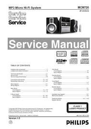 si鑒e canal plus manual de serviço mini system philips mcm726 by portal da eletrônica