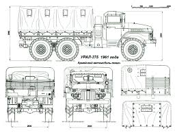 Габариты Урал-375   Dump Trucks   Pinterest   Dump Truck, 4x4 And ... Dump Truck Coloring Page Free Printable Coloring Pages Truck Vector Stock Cherezoff 177296616 Clipart Download Clip Art On Heavy Duty Tipper Drawing On White Royalty Theblueprintscom Bell Hitachi B40d Best Hd Pictures For Kids Kiddo Shelter Cstruction Vehicles Wanmatecom Scripted Page Wecoloringpage Remarkable To Draw A For Hub How Simple With 3376 Dump Drawings Note9info