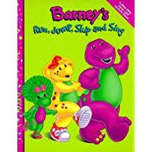Barneys Run Jump Skip And Sing