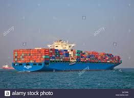 Asia China Hong Kong Container Ship Ships Shipping Containers Trade Commerce Cargo Freight Sea Se