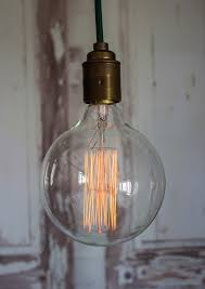large industrial style globe filament bulb thegiftedfew