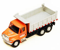 International Dump Truck Orange SHOWCASTS 2113d 5