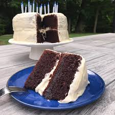 Black Magic Cake with Buttercream Frosting