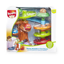 Spiral Christmas Trees Kmart by Bruin Infant Wacky Waddlers Woodland Tree House Playset Toys