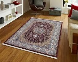wohnraum teppiche teppich kashmar orient rot creme gewebt