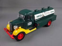 100 Hess Toy Truck Values 1985 Bank 1933 Chevy Fuel Oil Delivery S By