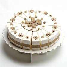 Wooden Cake Stand Rustic