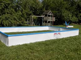 Backyard Ice Rinks: What Should I Use As RINK BOARDS For My ...
