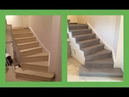 beton cire sur escalier bois rénover escalier décor béton ciré