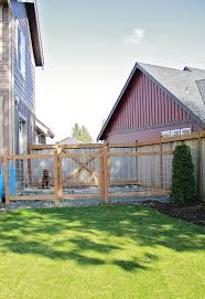Dog Fencing Options | Fence And Fencing A Backyard Guide Install Dog How To Build Fence Run Ideas Old Plus Kids With Dogs As Wells Ground Round Designs Small Very Backyard Dog Run Right Off The Porch Or Deck Fun And Stylish For Your I Like The Idea Of Pavers Going Through So Have Within Triyaecom Pea Gravel For Various Design Low Metal Home Gardens Geek To A Attached Doghouse Howtos Diy Fencing Outdoor Decoration Backyards Impressive Curious About Upgrading Side Yard