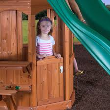 Woodland Wooden Swing Set - Playsets | Backyard Discovery Outdoor Play Walmartcom Childrens Wooden Playhouse Steveb Interior How To Make Indoor Kids Playhouses Toysrus Timberlake Backyard Discovery Inspiring Exterior Design For With Two View Contemporary Jen Joes Build Cascade Youtube Amazoncom Summer Cottage All Cedar Wood Home Decoration Raising Ducks Goods