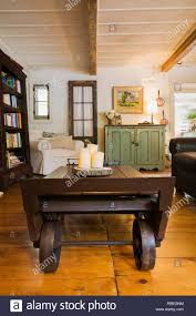100 Repurposed Table And Chairs Living Room With Old Wooden Grain Scale As Coffee Table Brown