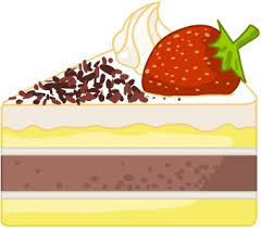 Chocolate Cake clipart sliced cake 4