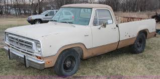 100 1972 Dodge Truck D100 Adventurer Pickup Truck Item K8969 SOLD