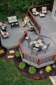 Homey Ideas Patio Deck Designs Best 25 Pinterest Decks Barn