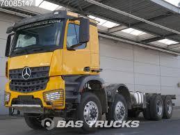 Продажа грузовика шасси MERCEDES-BENZ Arocs 4151 AK 8X8 Retarder ...