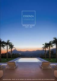100 Modern Architecture Magazine Media ESSENZA LIVING