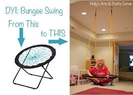 Bungee Chair Target Weight Limit by Diy Project Basement Bungee Swing Bungee Chair Craft Corner