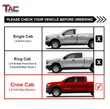 Amazon.com: TAC Side Steps For 2004-2018 Nissan Titan Crew Cab ... Exterior Accsories For Cars Trucks Jeeps Suvs Caridcom Custom Truck Outfitters Suv Auto Window Tting Hitch Installation Austin Tx Renegade Dodge Ram 1500 With Leitner Acs Offroad Bed Rack By Pin Amber On Camping Ideas Pinterest Nissan 4x4 And 2014 Used Chevrolet Silverado Ltz At Bmw Of Serving New Braunfels Bulverde San Antonio 48 Fancy Autostrach Oto Undcover Se Tonneau 3rd Gen Dcsb Tacoma World Henna Commercial Vehicles