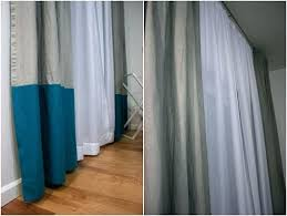 108 Inch Blackout Curtains White by Color Block Curtains U2013 Teawing Co