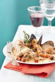 lapin cuisiné recette râbles de lapin au chorizo et aux moules