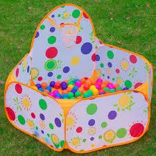 piscine a balle gonflable polka dot jouet tentes enfants portable piscine à balles parc