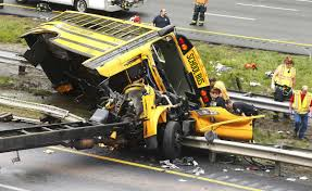 School Bus Ripped Apart In Dump Truck Crash, Killing 2 | Nation ... Manchester Police Reported Two Dump Truck Crashes On The Same Road Crews Rescue Victim Trapped In After Henrico Crash Wtvrcom Dump Injures 1 Closes Danbury Fox 61 One Airlifted Charged With News Watch This Truck Flip After Smashing Highway Sign With Raised State Dot Reopens Route 233 Following Updated Driver Dead Swamp Road Crash Dead Whitby 680 News Causing Traffic Backup On 55 In Harrison Killed Tips Into Ditch San Juan County Clean Oil Spill Trucks Marysville