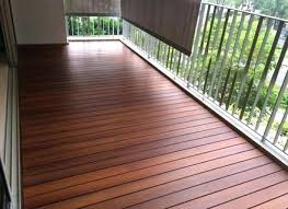 Small Balcony Deck Flooring Ideas Waterproof