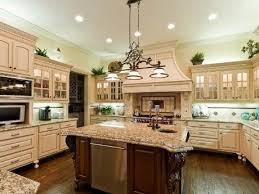 Marvelous Kitchen With A Nice Big Granite Top Island Design Intended For Islands Prepare 9