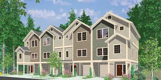 Photos And Inspiration Multi Unit Home Plans by Stunning Inspiration Ideas Fourplex House Plans 11 4 Plex Plans 3